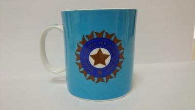 Indigo Creatives Official ICC T 20 Cricket World Cup India Team Logo Ceramic Coffee  Ceramic Mug