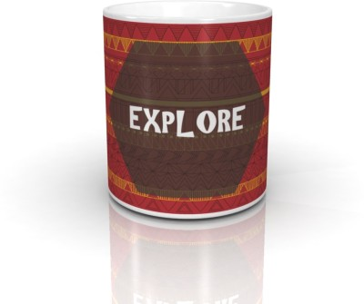 Seven Rays Explore Ceramic Mug