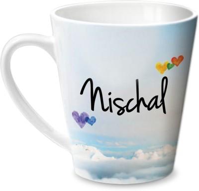 Hot Muggs Simply Love You Nischal Conical  Ceramic Mug