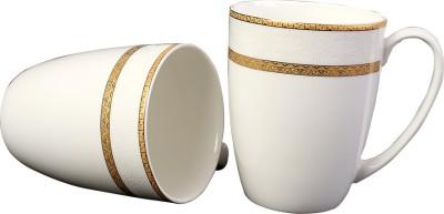 Aspirationz Az-Ds070-2 Pcs  Bone China Mug