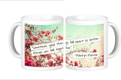 Shopmillions Better Things Can Fall Together Ceramic Mug