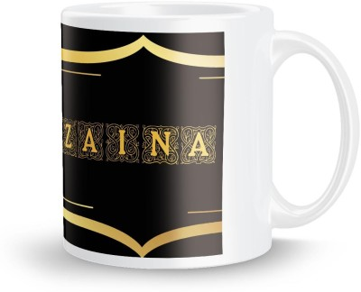 posterchacha Zaina Name Tea And Coffee  For Gift And Self Use Ceramic Mug