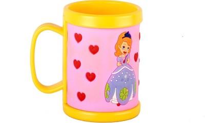 Ega Princess Belle Yellow Silicon  Plastic Mug