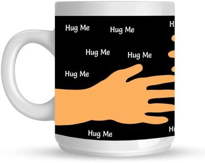 HuppmeGift Hug Me White  Ceramic Mug