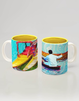 Indie Tadka Srinagar Indie Tadka Glass Mug