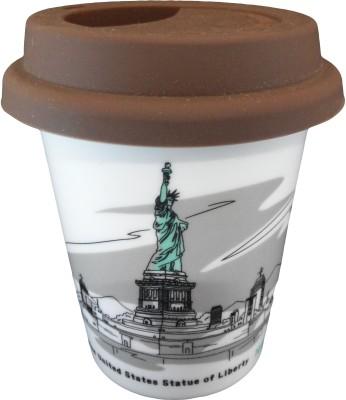 GeekGoodies Scenery Ceramic Liberty Statue Ceramic Mug