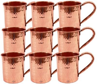 Indian Art Villa Set Of Moscow Mule Hammer  Cup Restaurant Bar Hotel Ware Copper Mug