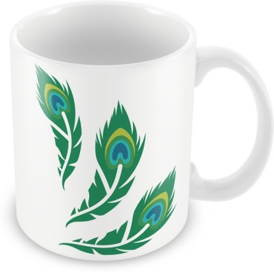 AKUP peackcock Ceramic Mug