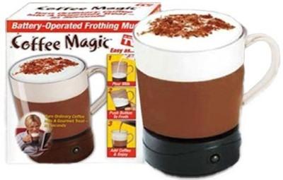 Phoenix Coffee Magic Self Stir Plastic Mug
