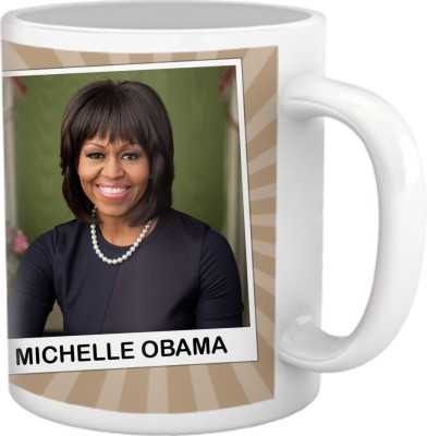 Tiedribbons My Daughter,My Pride Collection_Michelle Obama Ceramic Mug