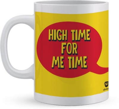 Utpatang High Time for Me Time  Ceramic Mug