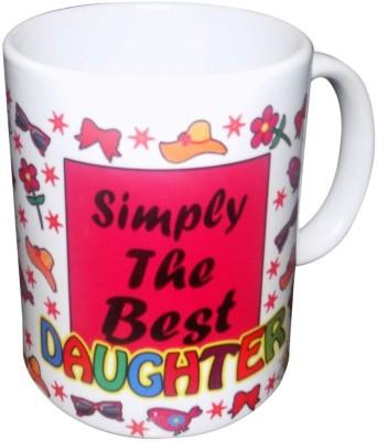 Wishy Cmug Pink White 10 Ceramic Mug