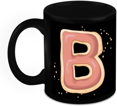 HomeSoGood One Of A Kind Alphabet B Ceramic Mug