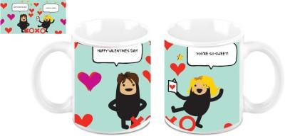 Symphony Happy Valentines Day Ceramic Mug