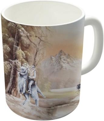 Dreambolic Being Followed Ceramic Mug