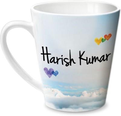 Hot Muggs Simply Love You Harish Kumar Conical  Ceramic Mug