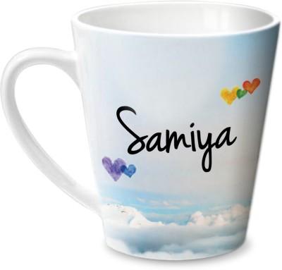 Hot Muggs Simply Love You Samiya Conical  Ceramic Mug