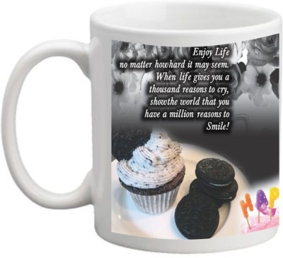 Printocare Happy Birthday  3 Ceramic Mug