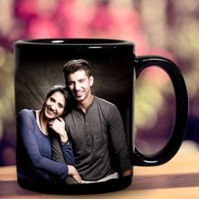 Mayursflora Personalized Couple  Ceramic Mug