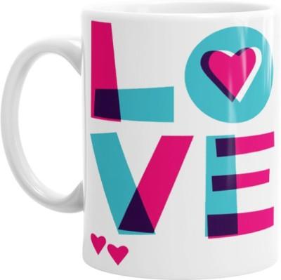 Hainaworld Love Colour Mix Coffee  Ceramic Mug