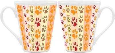 HomeSoGood Claws Of Animals Ceramic Mug