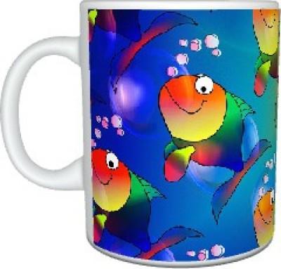 Creatives Fishy Ceramic Mug