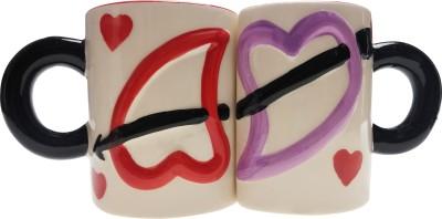 ANNI CREATIONS Arrow Heart Ceramic Mug
