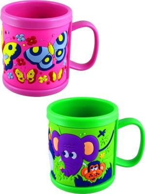 Radius Cartoon design colorful kids mugs Plastic Mug