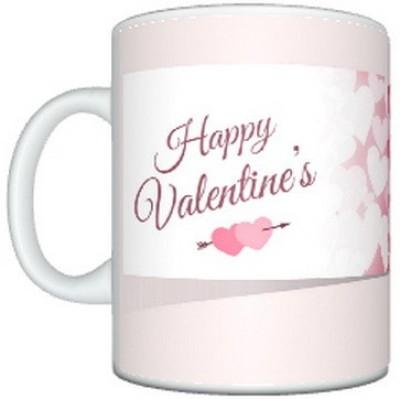 CreativesKart Valentine Heart Ceramic Mug