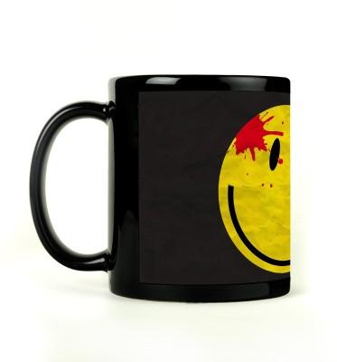 AURRA PRINTED BLACK-564 Ceramic Mug