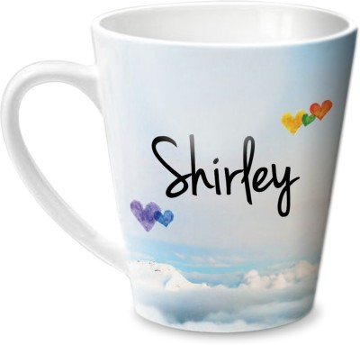 Hot Muggs Simply Love You Shirley Conical  Ceramic Mug