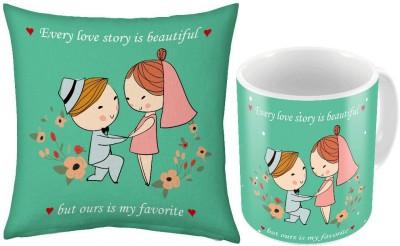 Little India Cute Coffee  n Filled Cushion Pair 322 Ceramic Mug