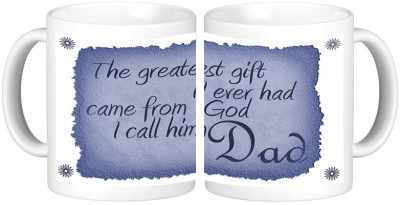 Shopmillions Greatest Dad Ceramic Mug