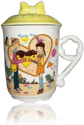 DRL DRL Happy Day  Porcelain Mug