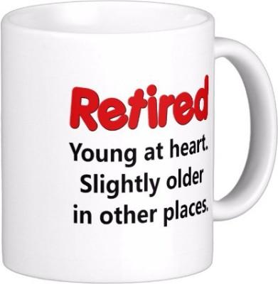 Exoctic Silver 2nd Innings-Post Retirement CX001 Ceramic Mug