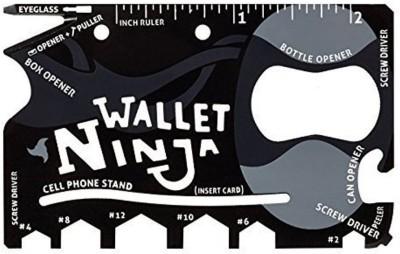 Ninja Credit-Card Sized 18 Multi-utility Knife