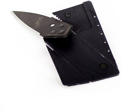 Tazindia Card Sharp 1 Utility Knife(Black)