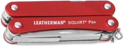 Leatherman Squirt PS4 Red Multi Utility Plier