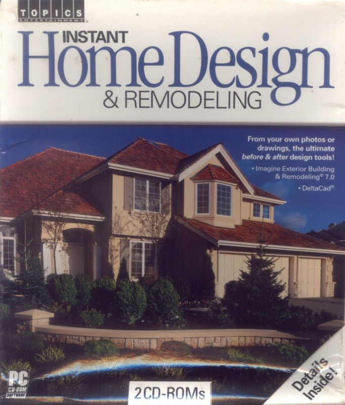 Topics Entertainment Instant Home Design & Remodeling(2 CD-ROMs)