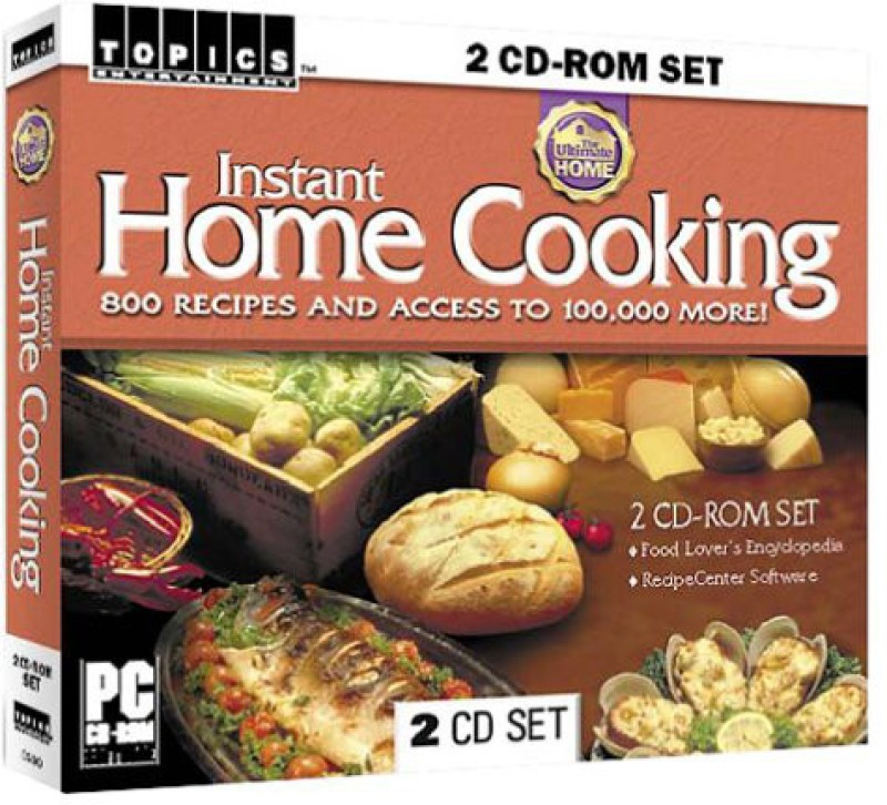 Topics Entertainment Instant Home Cooking(2 CD-ROMs)