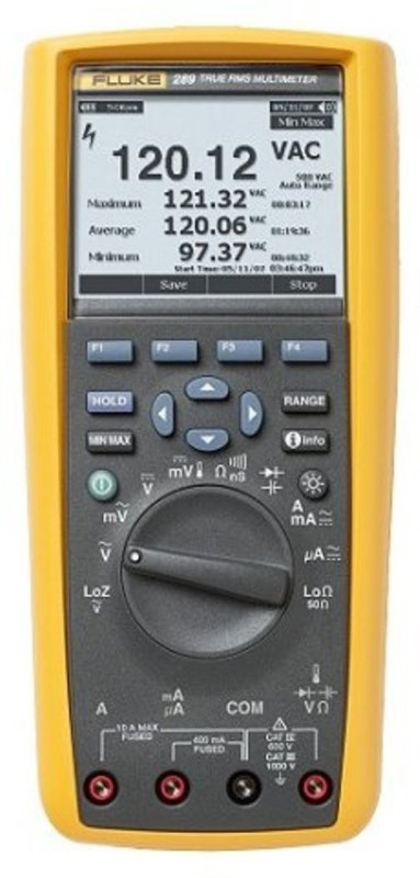 Fluke 289 Digital Multimeter(Yellow, Grey 6000 Counts)