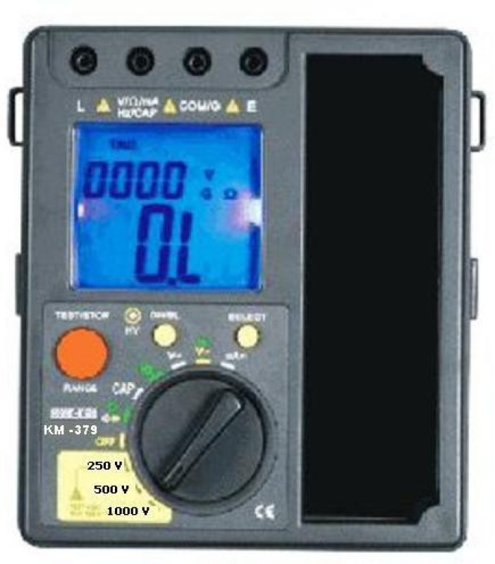 Kusam Meco KM 379 Digital Multimeter(Blue 2000 Counts)