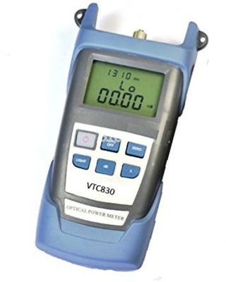 V TECH Optical Power Meter Fiber Fibre optics tester High Power test SM MM Telecom FTTH One year Warranty FC/SC Connectors & Batteries Digital Multimeter(8000 Counts)