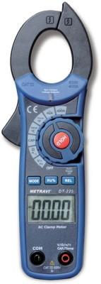 METRAVI 225 DIGITAL CLMAP METER Digital Multimeter(Blue 4000 Counts)