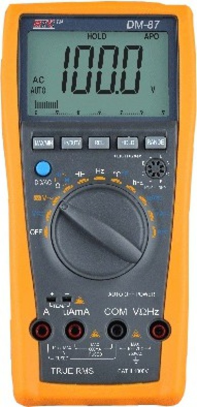 HTC DM87 Digital Multimeter(Yellow 2000 Counts)