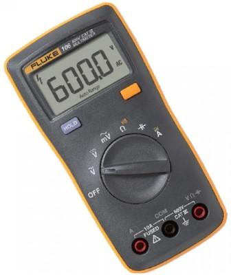 Fluke 106 Digital Multimeter(Yellow, Black 6000 Counts)