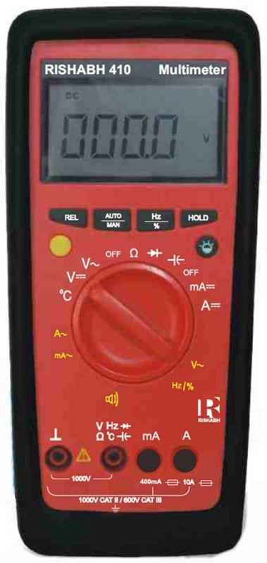 Rishabh 600g Digital Multimeter Non-magnetic Electronic Level(18 cm)