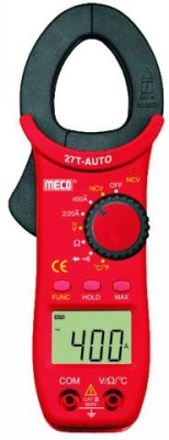 Meco 27T-Auto Digital Multimeter(Red, Blue 2000 Counts)