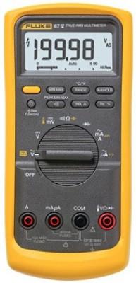 Fluke FLUKE-87V Digital Multimeter(Black, Yellow 6000 Counts)