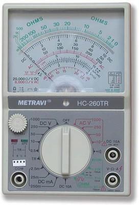 METRAVI 260 TR Analogue Digital Multimeter(Grey 4000 Counts)